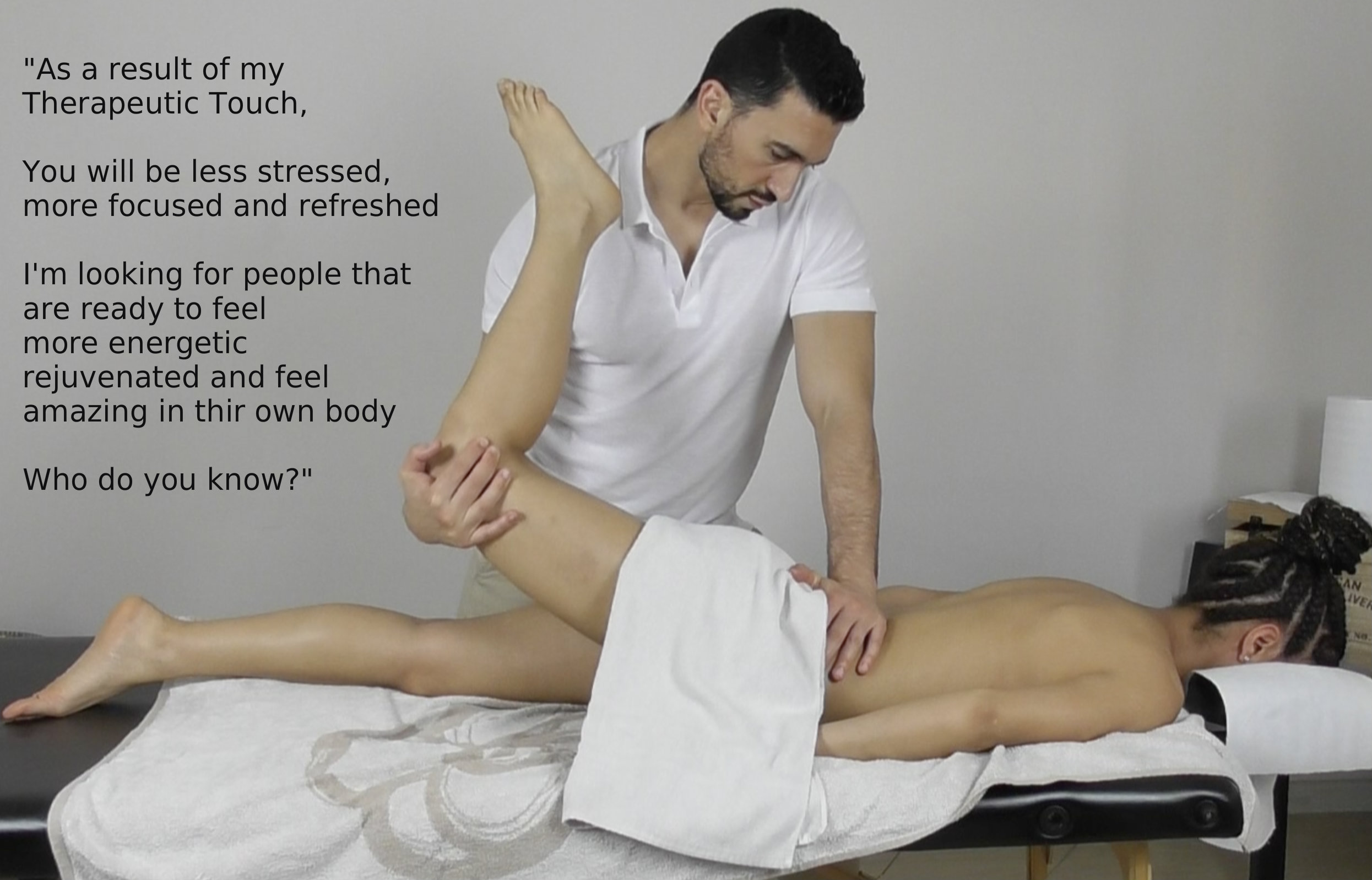 Stretching massage